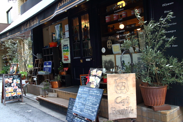 カフェ バスティーユ
