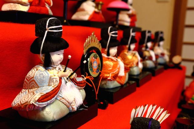 雛人形 五人囃子