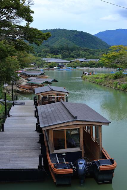京都 嵐山 桂川