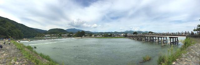 京都 嵐山 パノラマ
