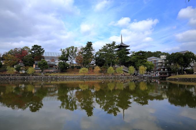 奈良猿沢池