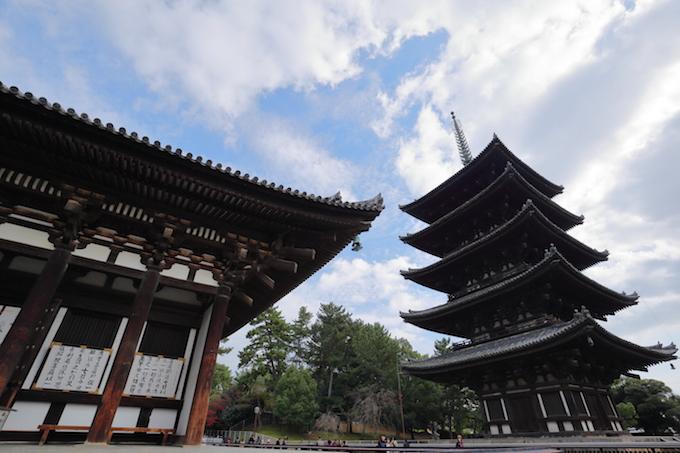 奈良興福寺五重塔