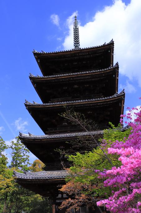 京都 仁和寺 五重塔