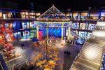 京都新風館のイルミネーション