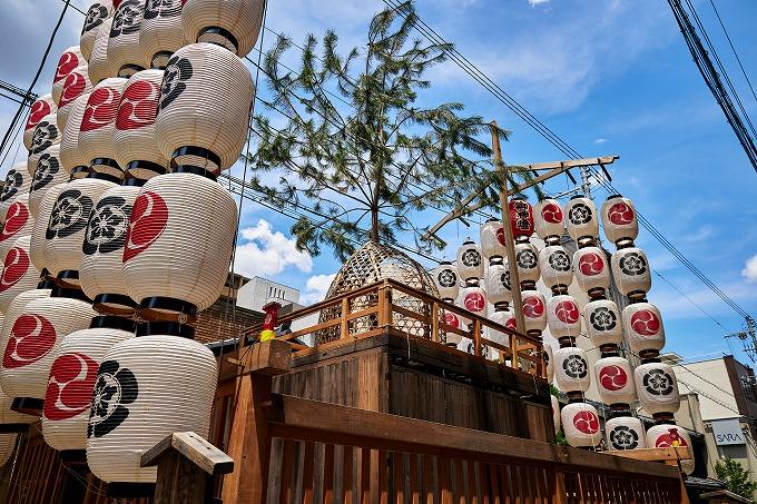 京都 祇園祭 八幡山